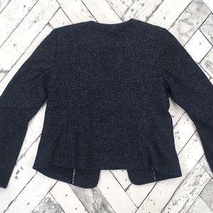 Anthropologie Jackets & Coats - Anthropologie Cartonnier Flounced Sleeve Blazer